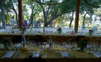 Winemaker Dinner at the Winery catered by Claud Beltran from Noir in Pasadena